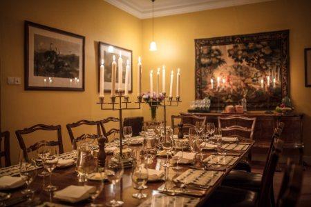 Fotoreise-Hebriden-Unterkunft-Lewis-Dining