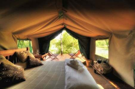 Fotoreise-Simbabwe-Lodge-Mana-Pools-Standard-Zelt