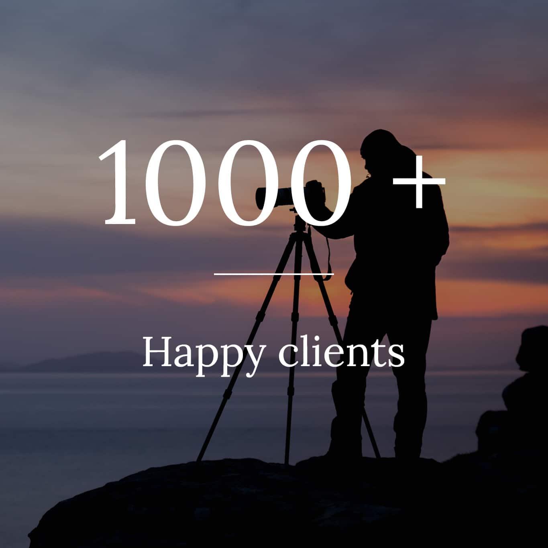 About us happy clients