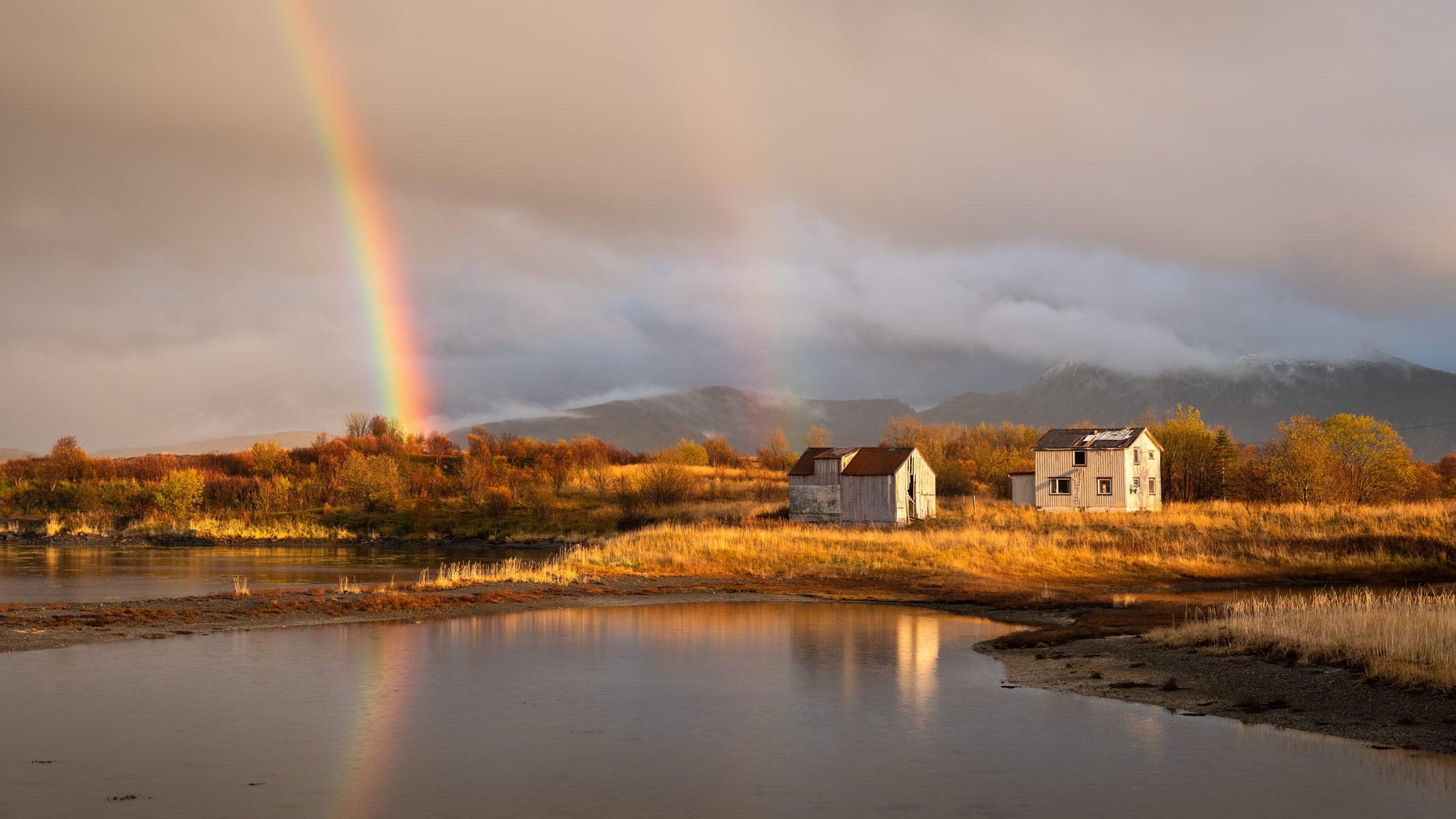 Fotoreise Lofoten Herbstfarben