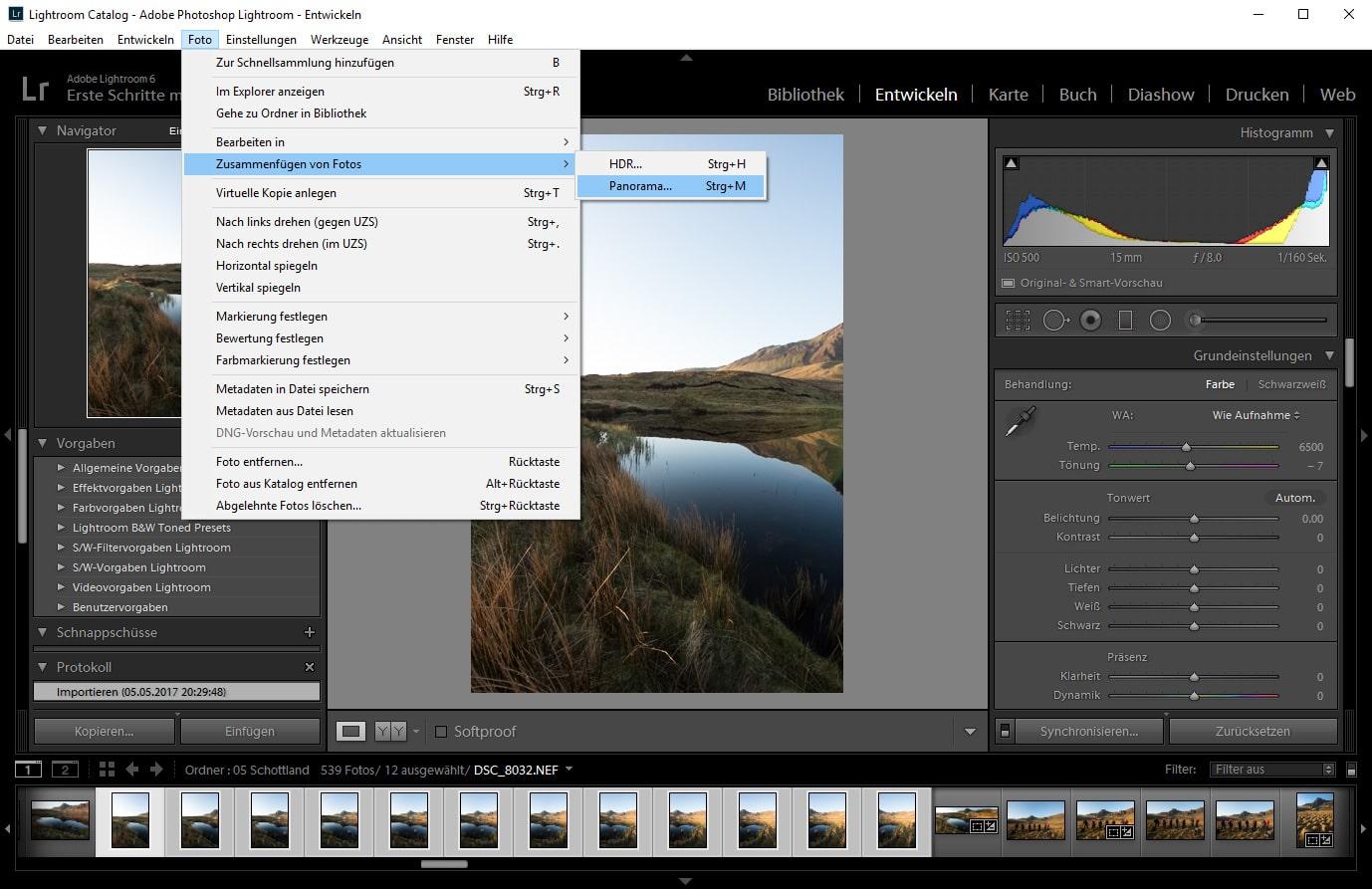 Blog Panorama Fotografie