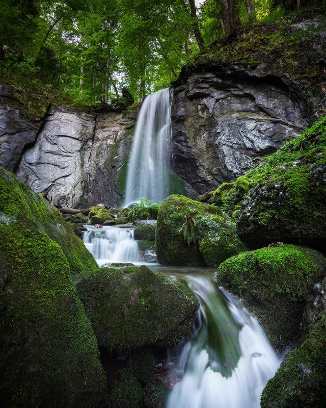 Fotoworkshops - Landschaftsfotografie - Wasserfall Fotografie