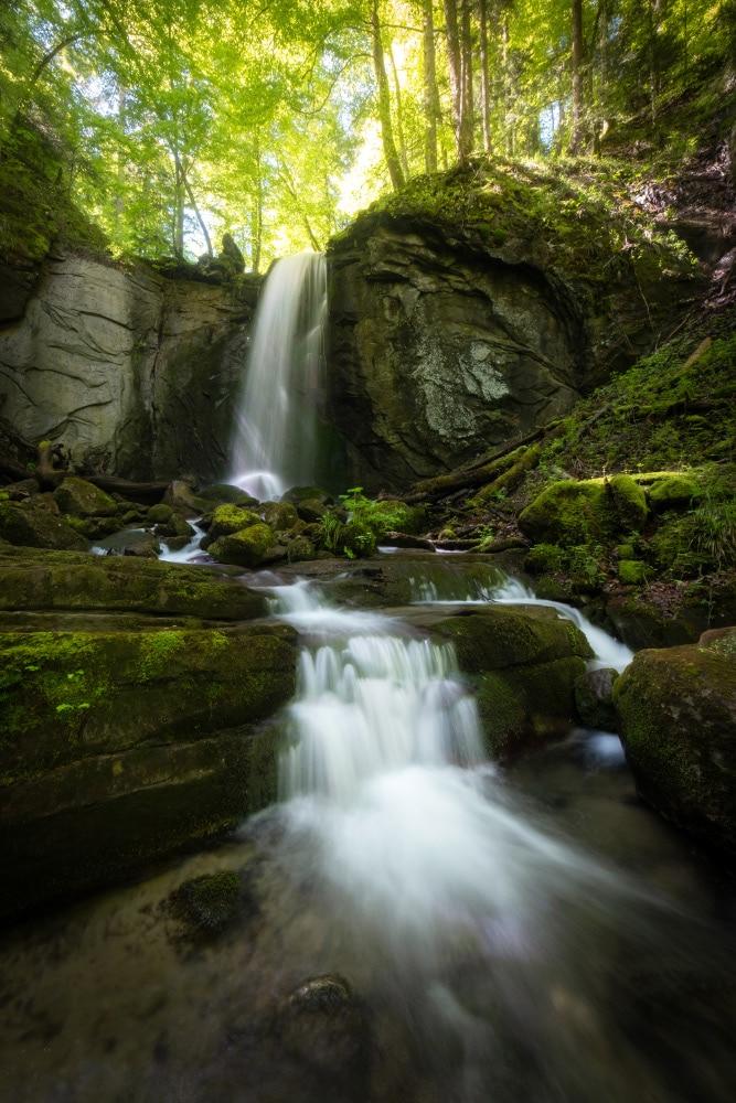 Fotokurs Wasserfall Fotografie