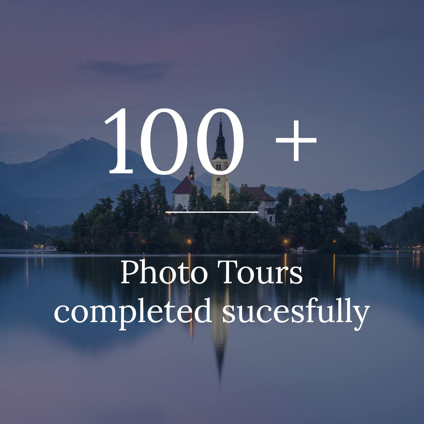 About us photo tours completed