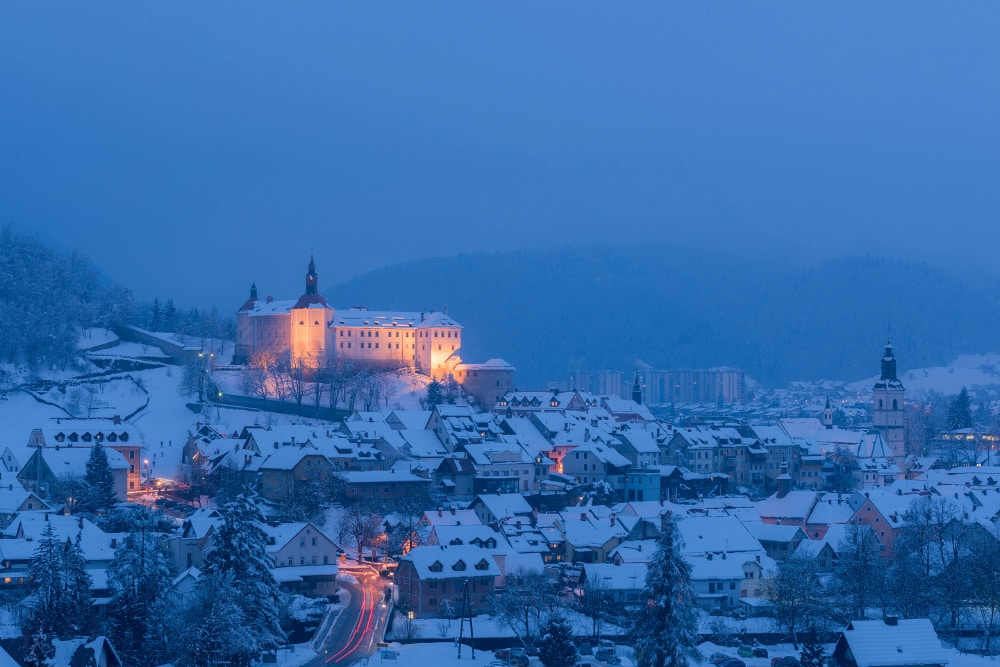 Fotoreise Slowenien Winter